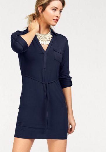 AJC Hemdblusenkleid, aus weicher Jersey Qualität