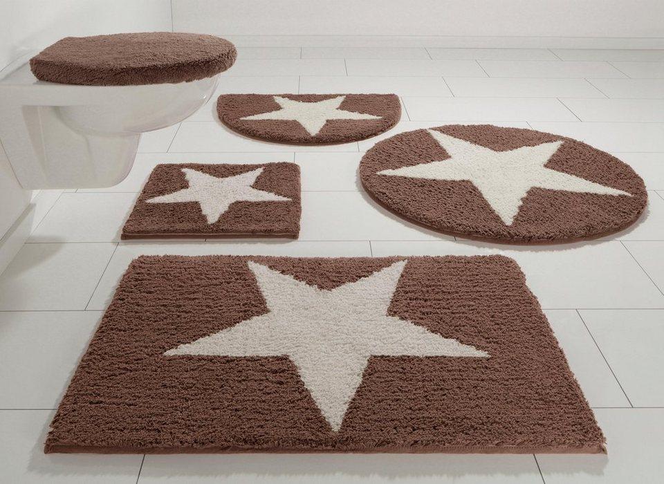 badematte home affaire collection mary h he 17 mm bio baumwolle rutschhemmender r cken. Black Bedroom Furniture Sets. Home Design Ideas