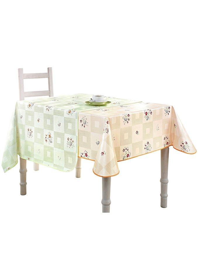 Tischdecke in lindgrün