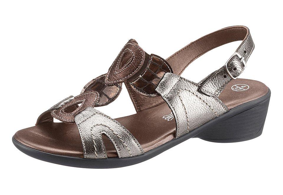 Sandalette, Airsoft in bronzefarben