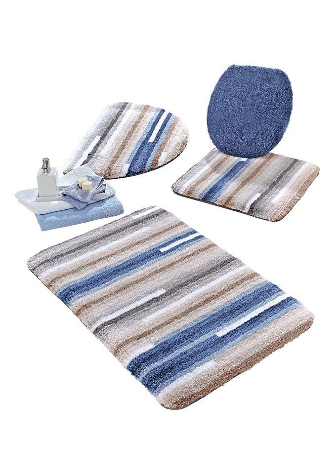 Badeteppich, Kleine Wolke in blau