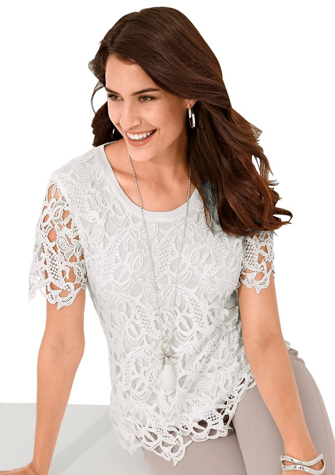 Alessa W. Shirt in wollweiß
