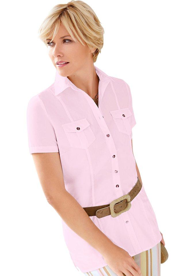 collection l bluse mit offenem hemdkragen kaufen otto. Black Bedroom Furniture Sets. Home Design Ideas
