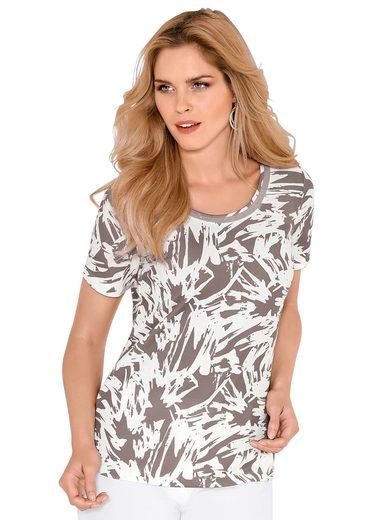 Lady Shirt mit kleinen Glitzersteinchen