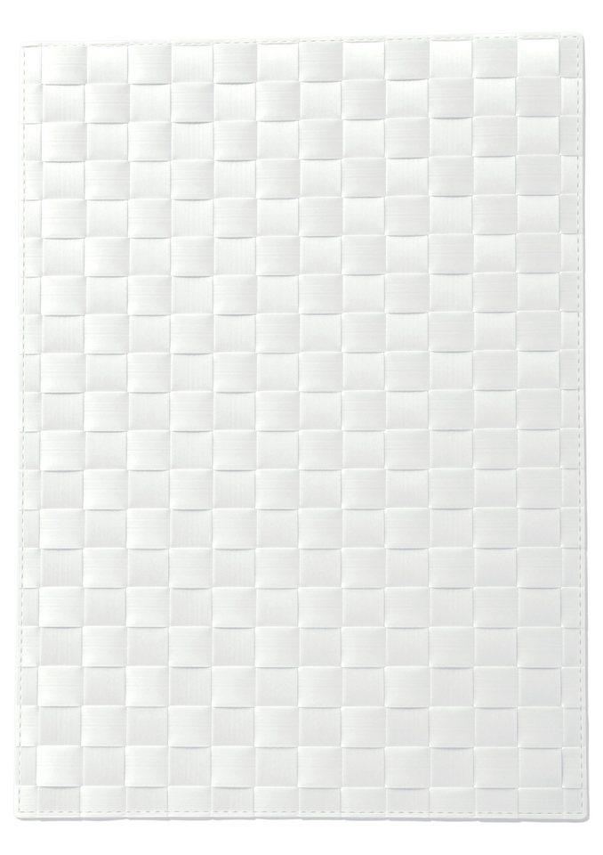 Platzsets (2 Stck.) in weiß
