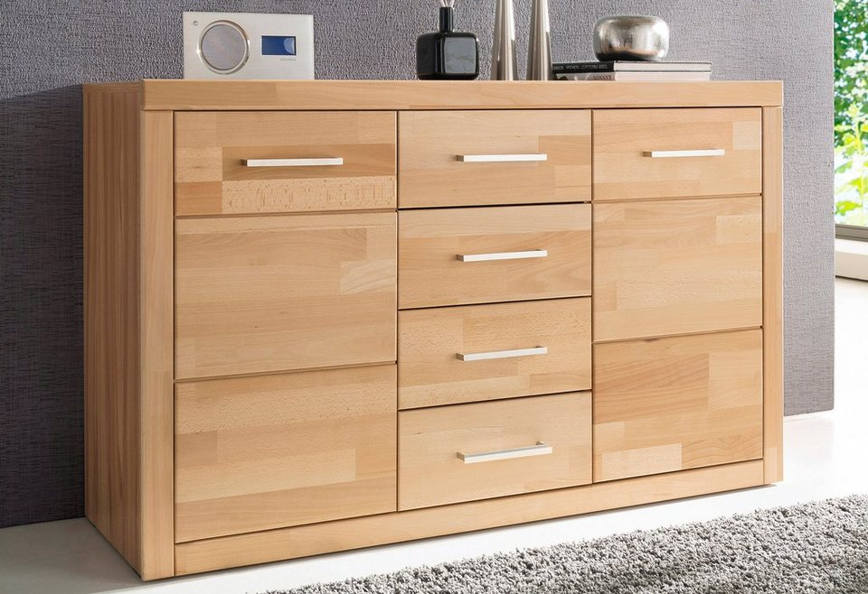 kommode 130 cm breit top borchardt mbel kommode vaasa breite cm mit push to open with kommode. Black Bedroom Furniture Sets. Home Design Ideas