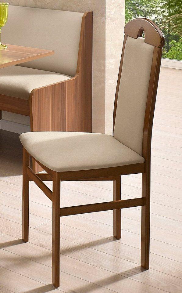 Stühle (2 Stck.) in Bezug beige