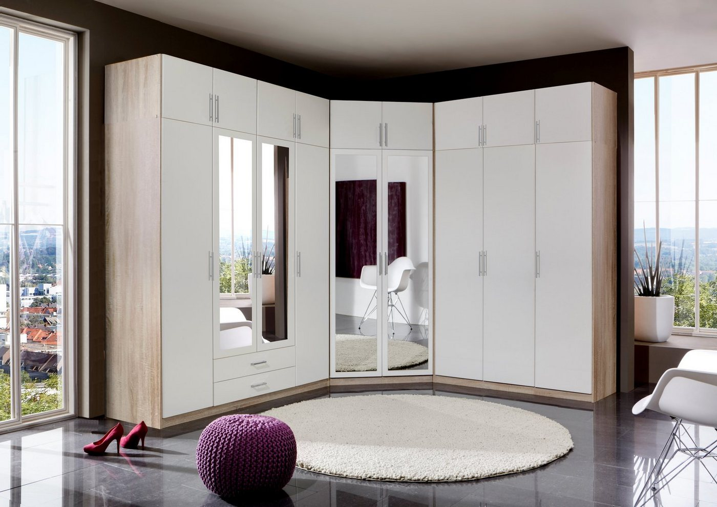 wimex kleiderschrank spectral made in germany. Black Bedroom Furniture Sets. Home Design Ideas