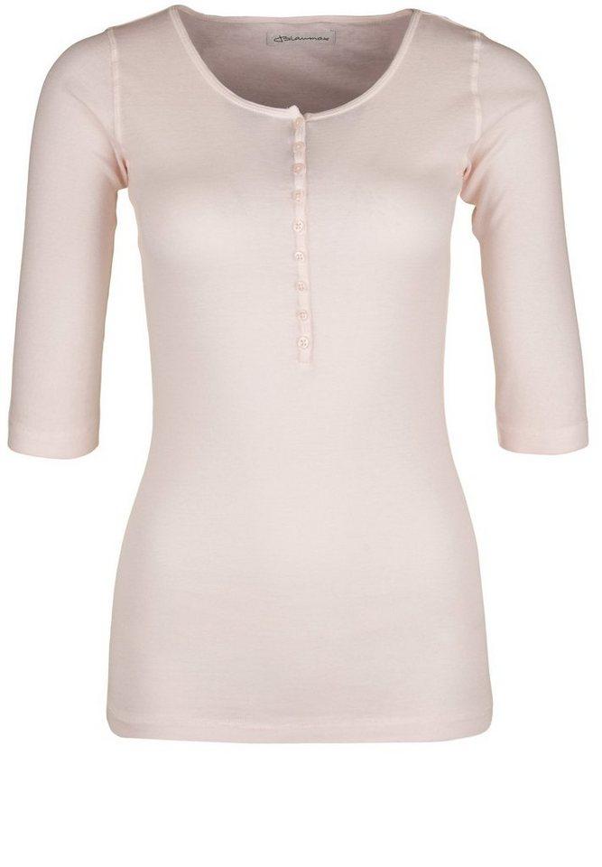 Blaumax T-Shirt »PARIS HS« in babe rose