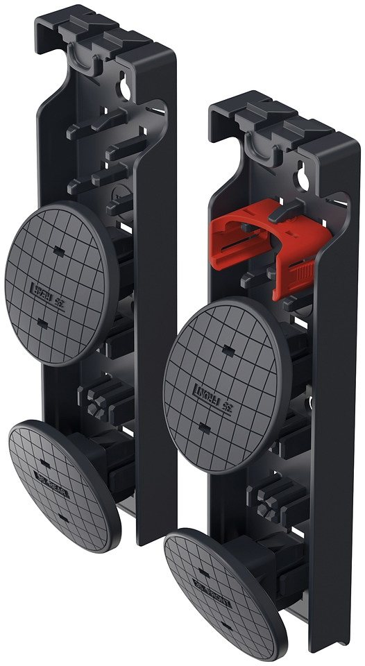 Fuß-Set »EasyClix Garden M« in schwarz
