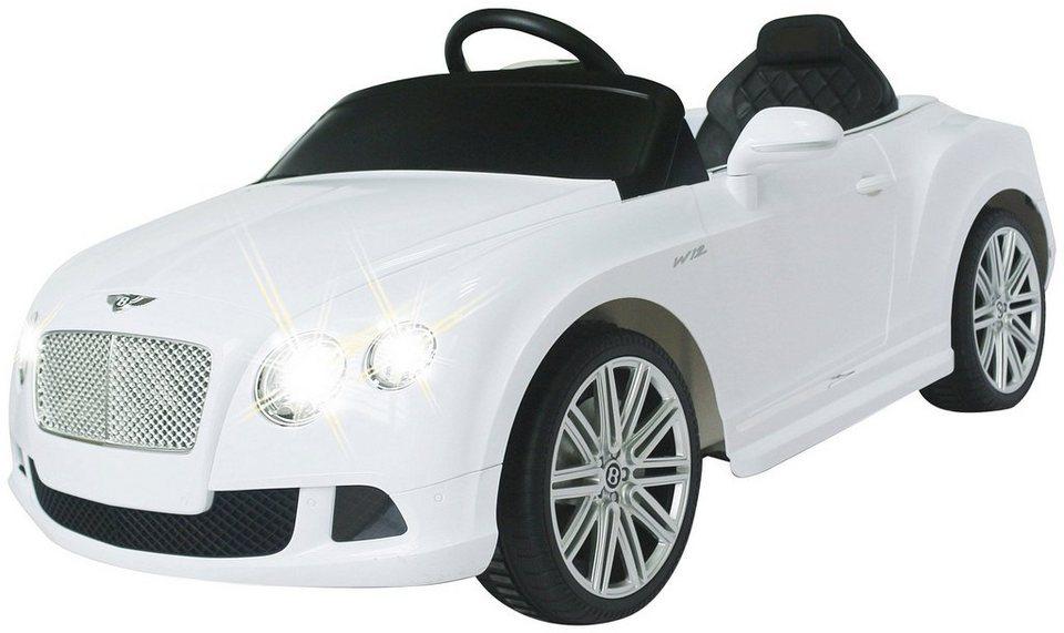 Elektro Kinderauto »Ride-on Bentley GTC« 40 Mhz, weiß in weiß