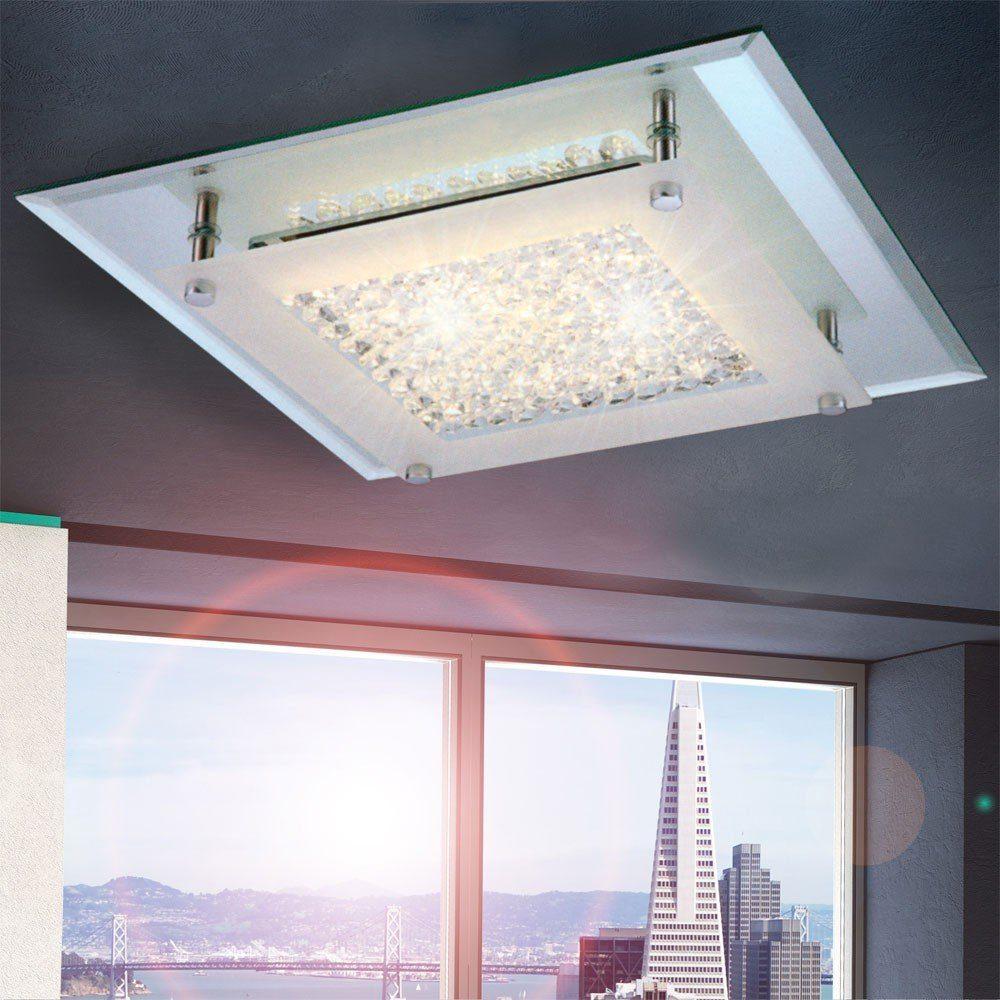 Licht-Trend Deckenleuchte »Flowy LED-Deckenleuchte mit Glaskristallen«