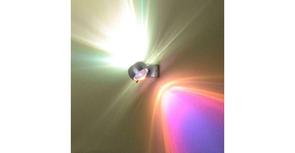 s.LUCE Wandlampe »Beam Up & Down mit Glaslinsen«