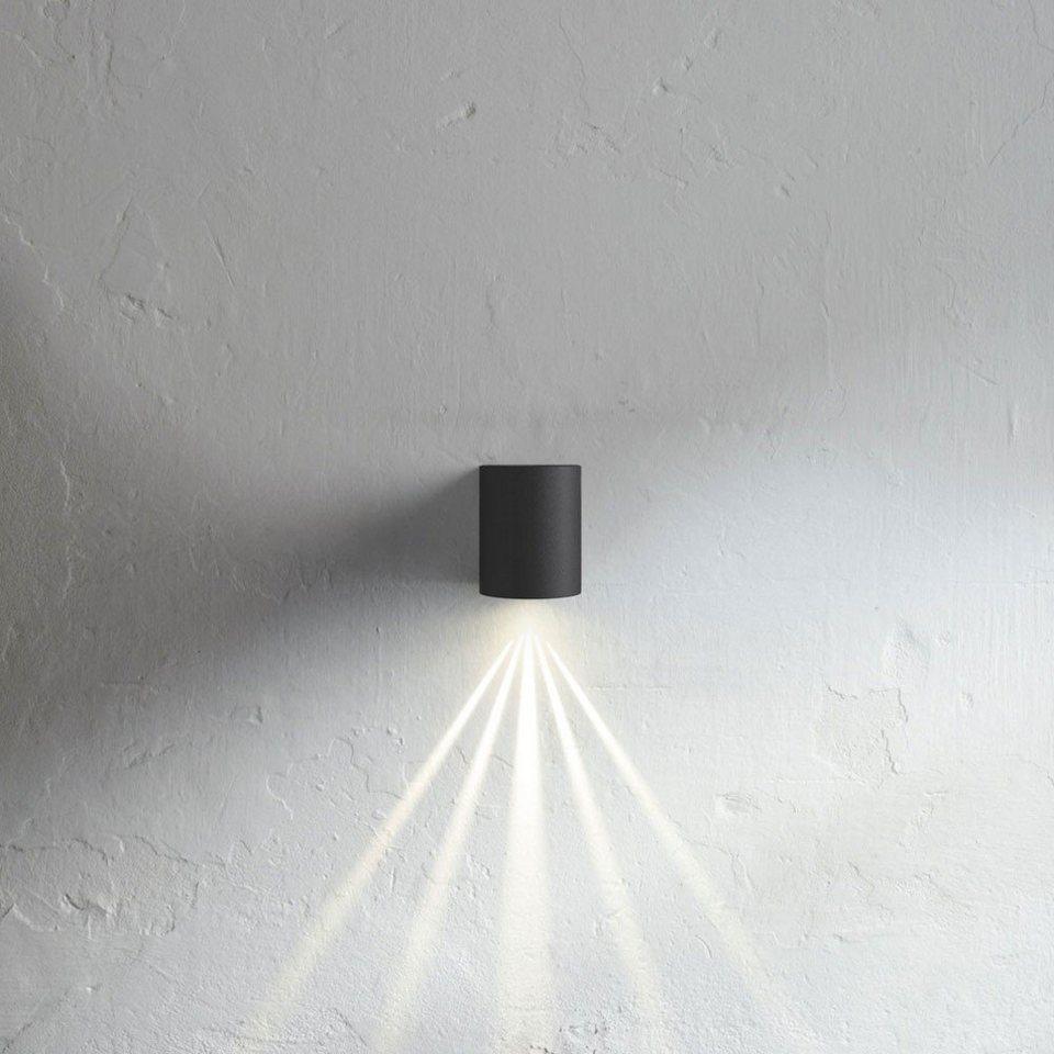 Licht-Trend Wandlampe »Baleno LED-Wandleuchte mit Lichtfilter schwarz« in Schwarz
