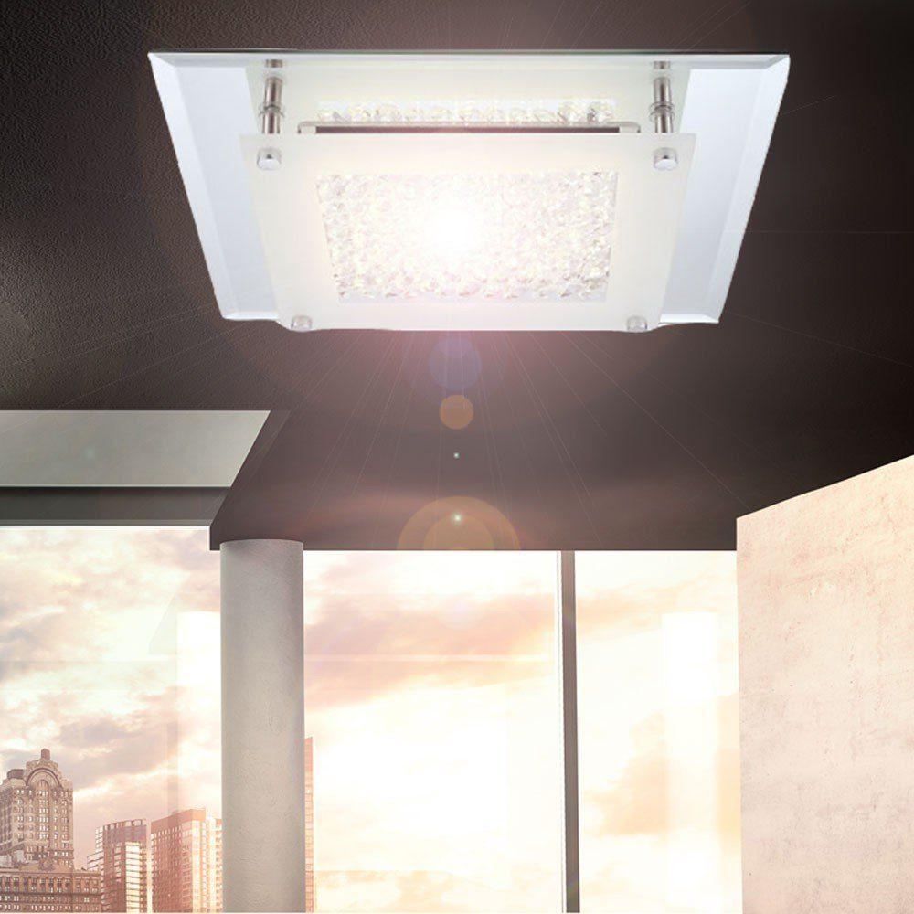 Licht-Trend Deckenleuchte »Flowy LED mit Glaskristallen«