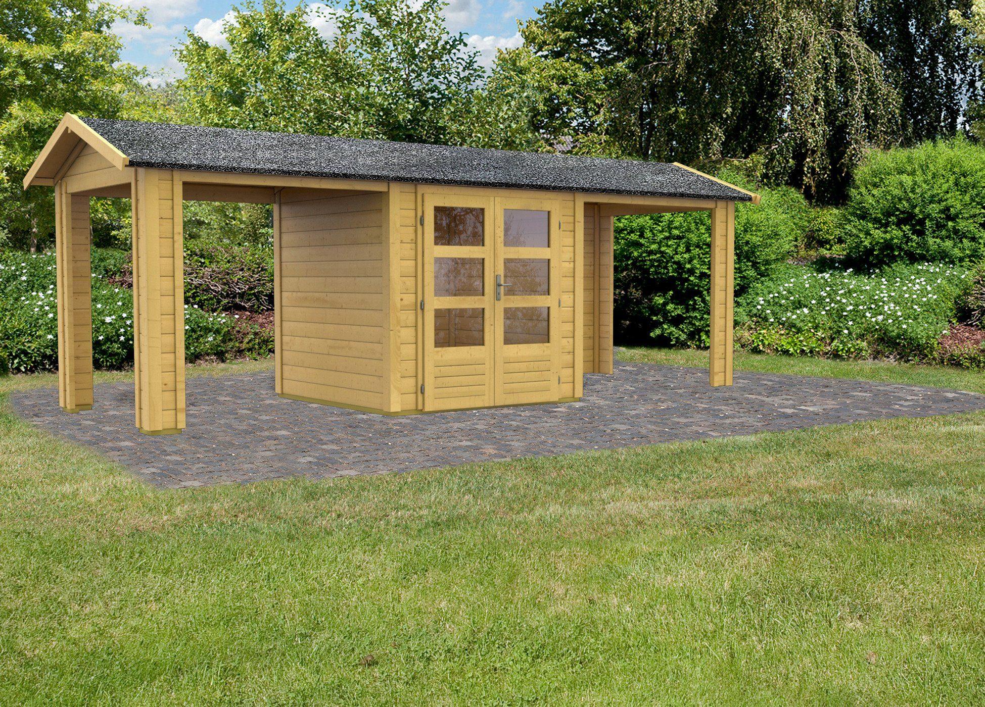 KARIBU Gartenhaus »Taranis 1«, BxT: 204x204 cm