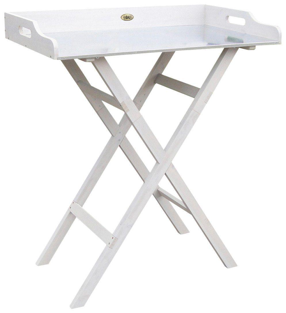 HABAU Pflanztisch , aus Kiefernholz, BxTxH: 83x46x95 cm, weiß