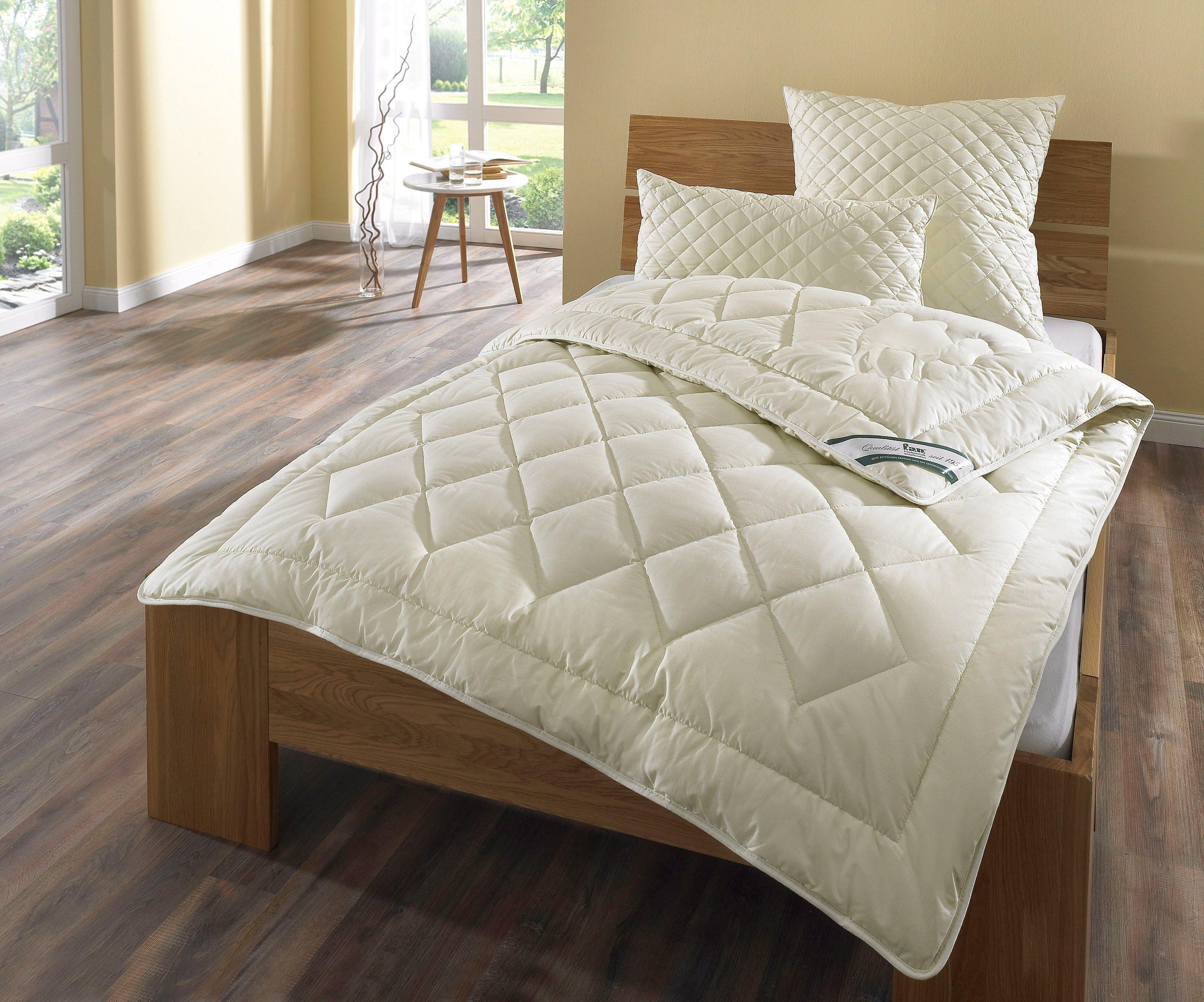 Jahreszeiten Bettdecke 155x220cm 100/% Baumwollbettdecke waschbar Bio Baumwoll 4