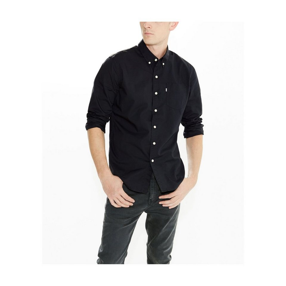 Levi's® Hemd »Classic One Pocket Shirt« in Black