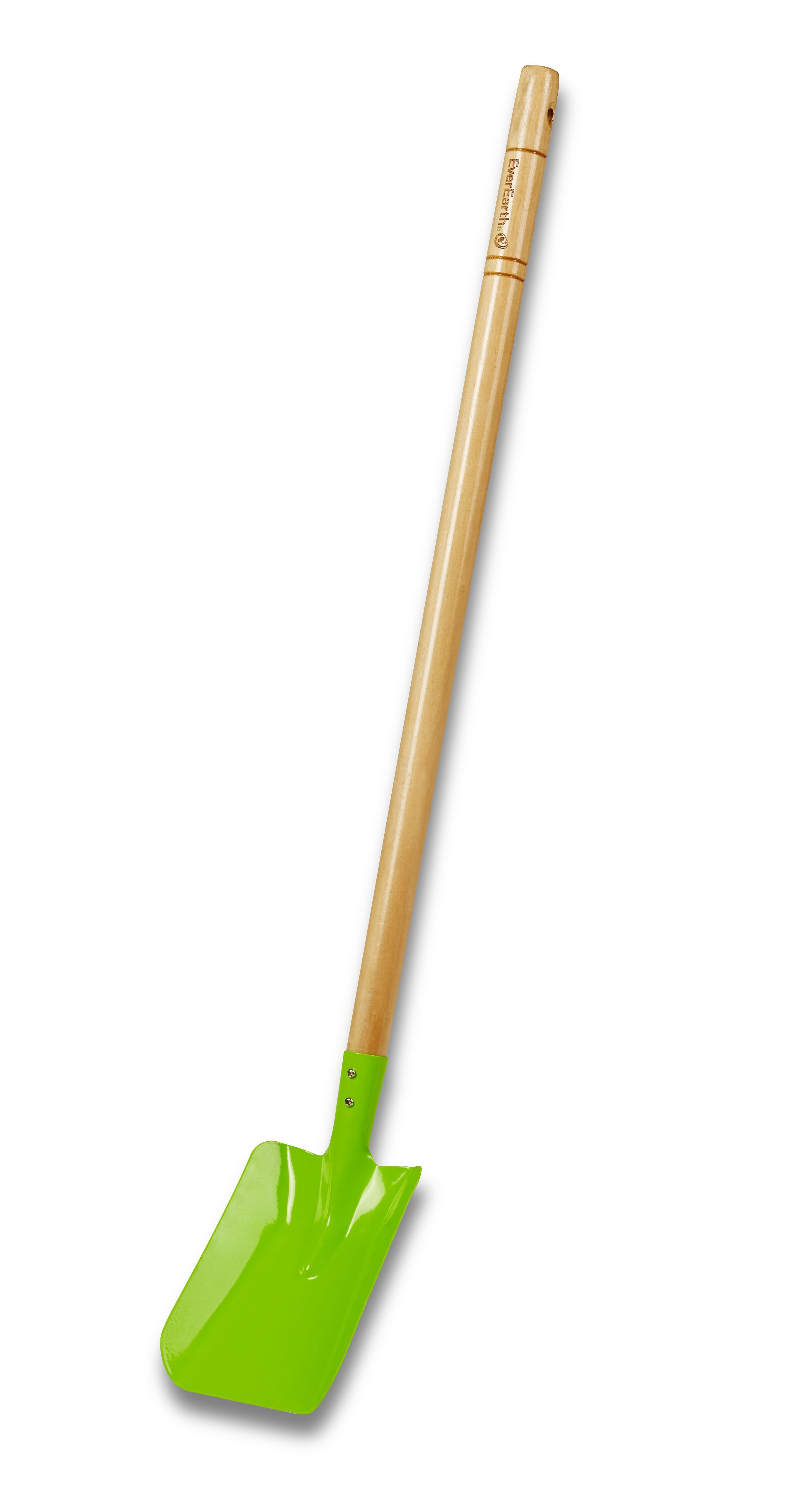 EverEarth® Kinder-Schaufel mit Griff aus Holz