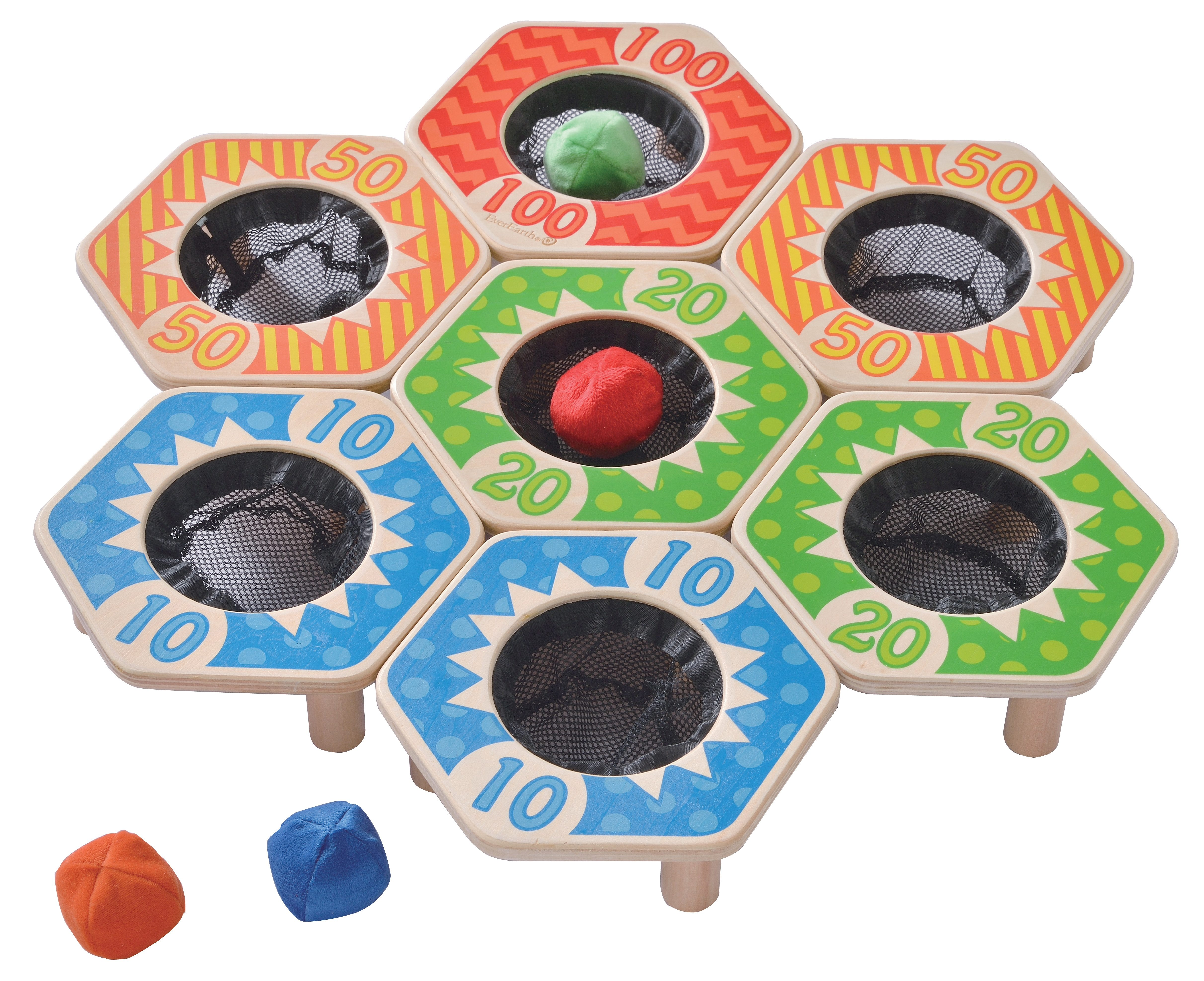 EverEarth® Holz-Spiel, »Wurf-Ball-Spiel«