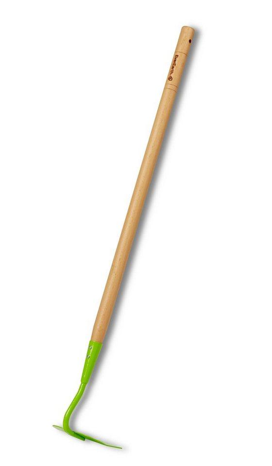EverEarth® Kinder-Hacke mit Griff aus Holz