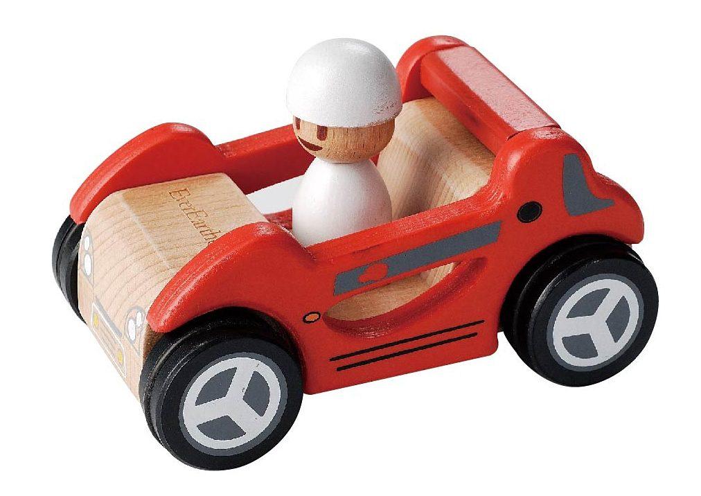 EverEarth® Spielauto aus Holz, »Roter Rennwagen«