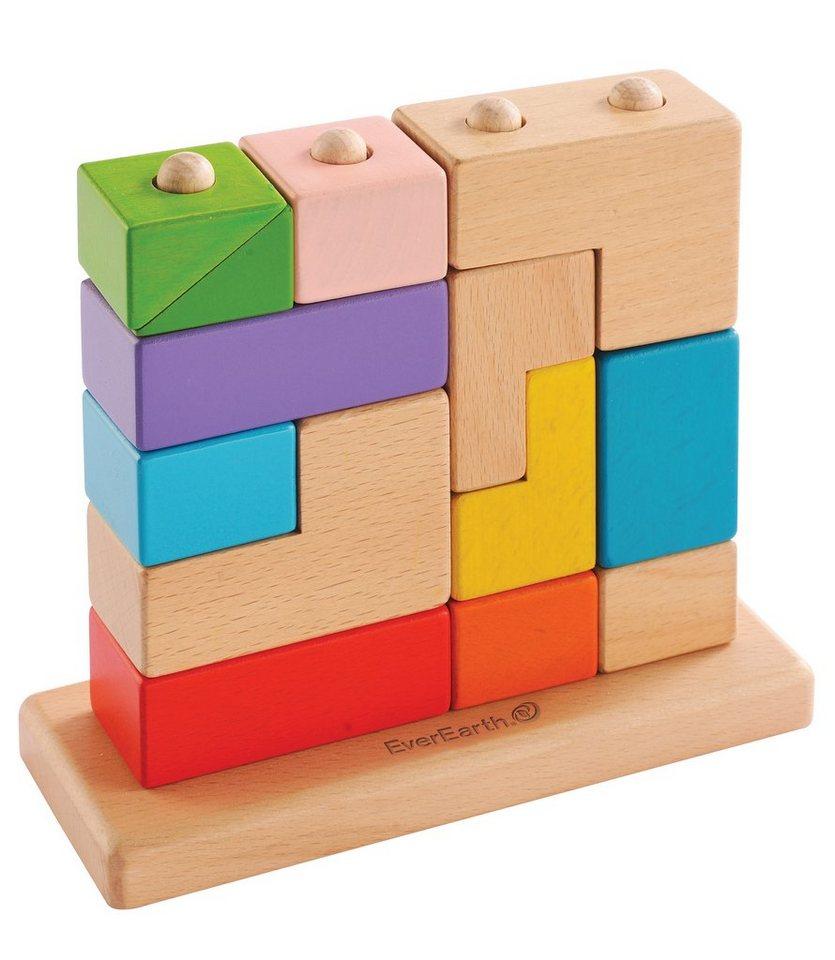 EverEarth® Würfelpuzzle aus Holz