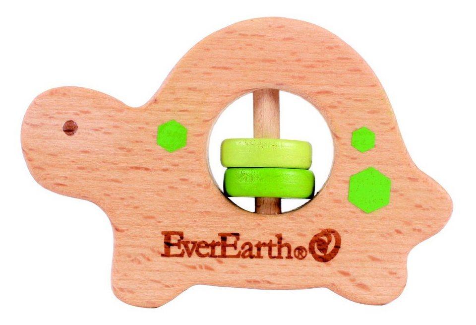 EverEarth® Baby-Greifring aus Holz, »Schildkröte«