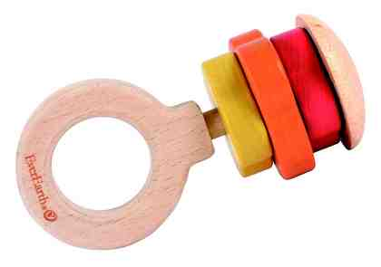 EverEarth® Rasselspielzeug aus Holz, » Ring«