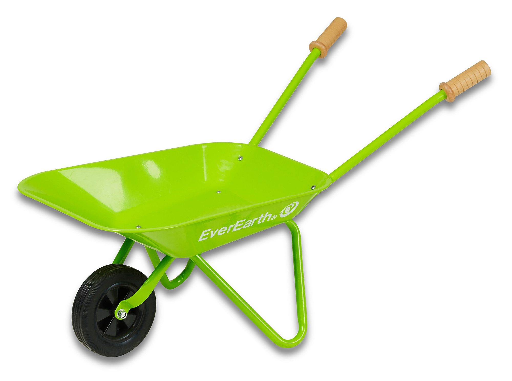 EverEarth® Kinder-Schubkarre mit Griffen aus Holz