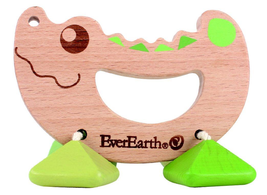 EverEarth® Rassel aus Holz, »Krokodil«