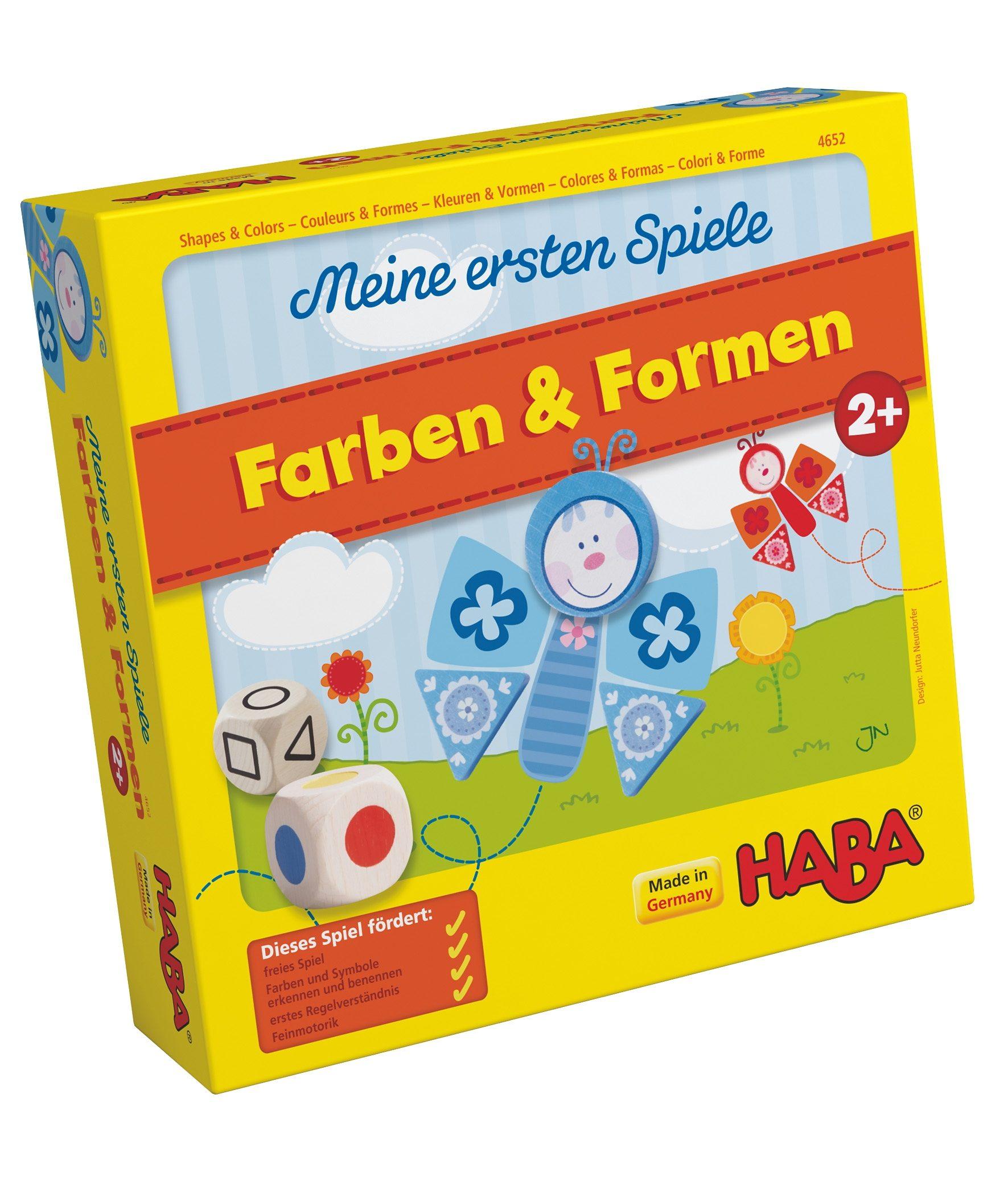 HABA® Lernspiel »Meine ersten Spiele - Farben & Formen«