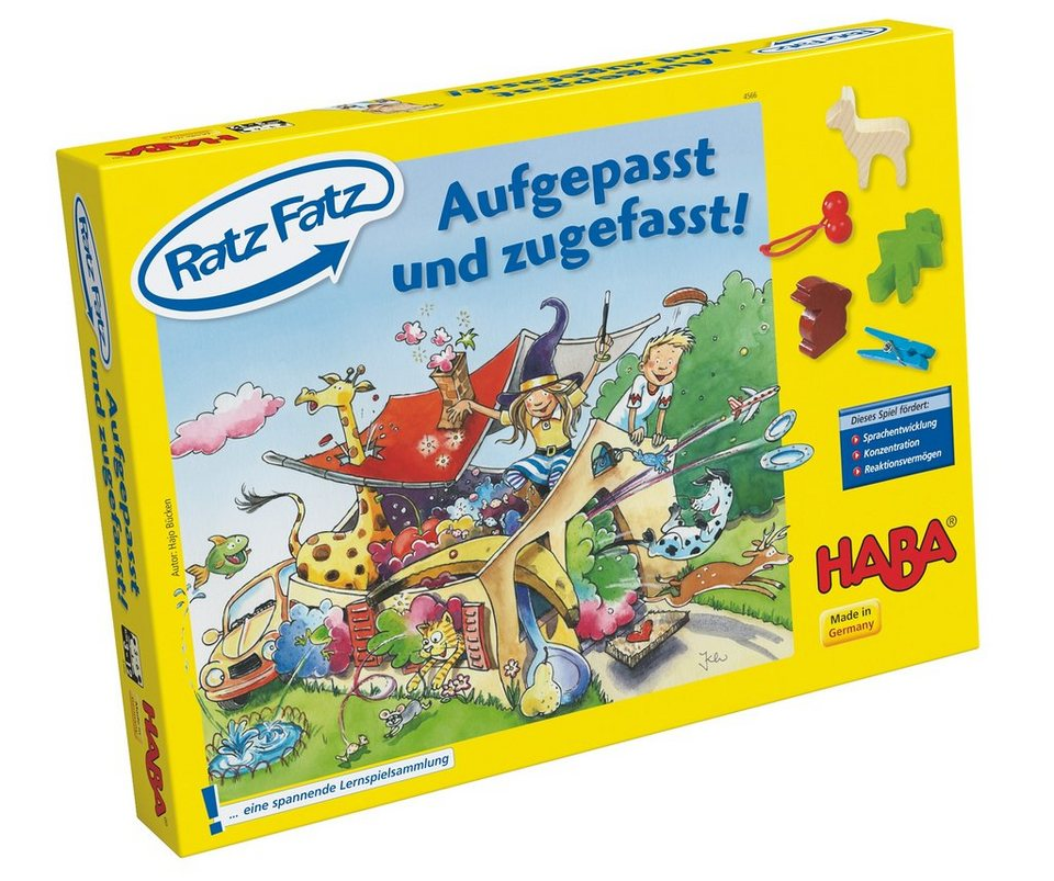 HABA® Lernspiel »Ratz Fatz«