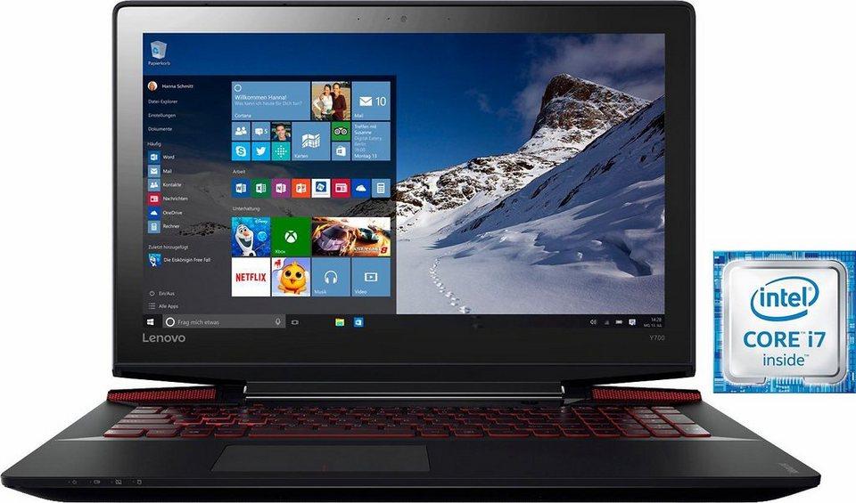 Lenovo Ideapad Y700-15ISK Notebook, Intel® Core™ i7, 39,6 cm (15,6 Zoll), 512 GB Speicher in schwarz