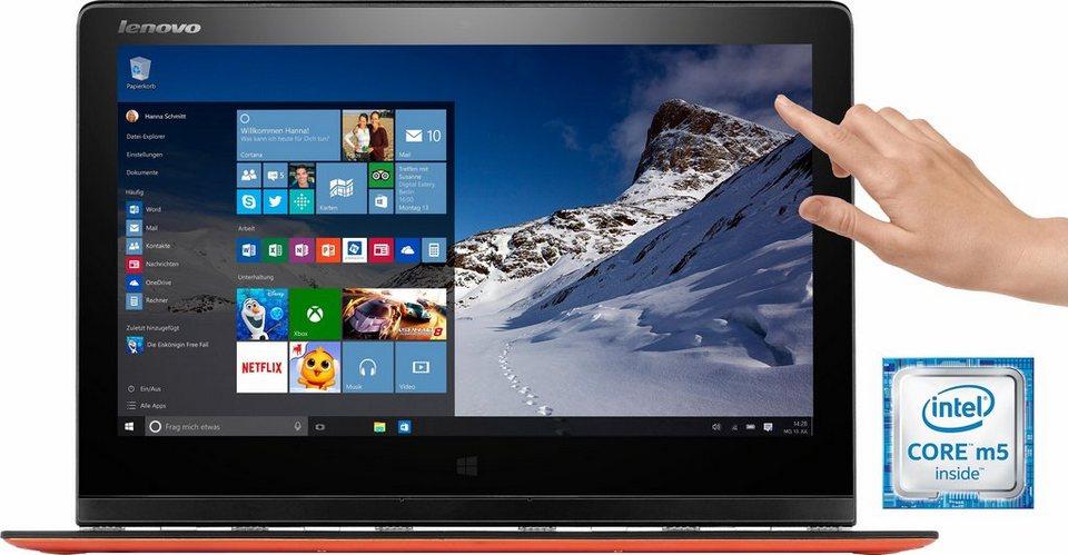 Lenovo YOGA 3 Pro Convertible Notebook, Intel Core M, 33,7 cm (13,3 Zoll), 256 GB Speicher in orange