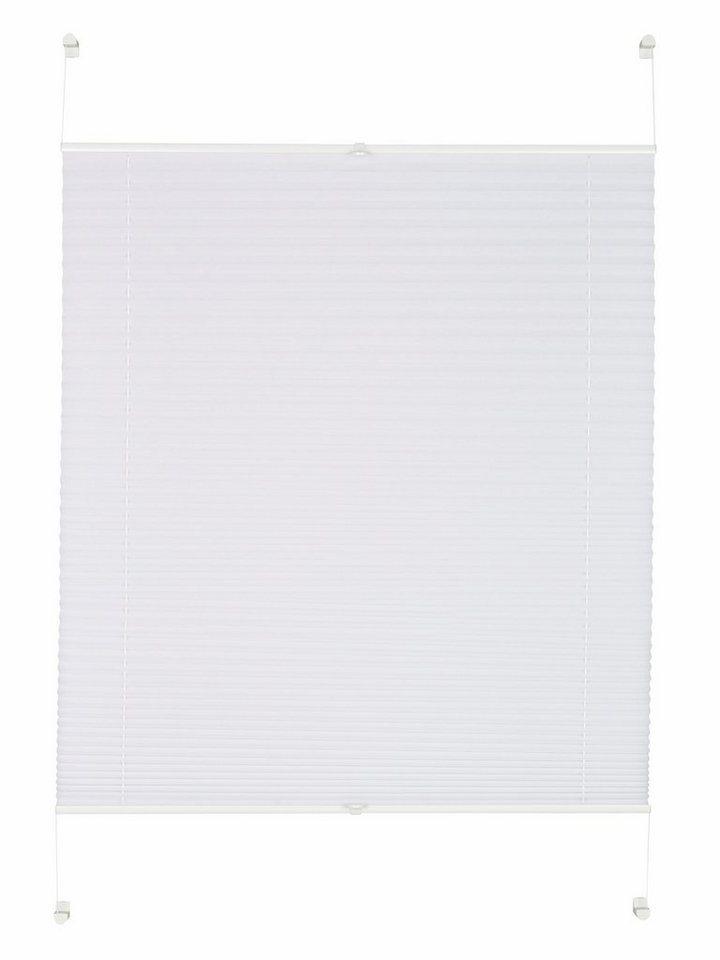 Plissee-Faltenstore, Gardinia, »Easyfix Plissee«, im Festmaß, ohne Bohren, Lichtschutz (1 Stck.) in weiß
