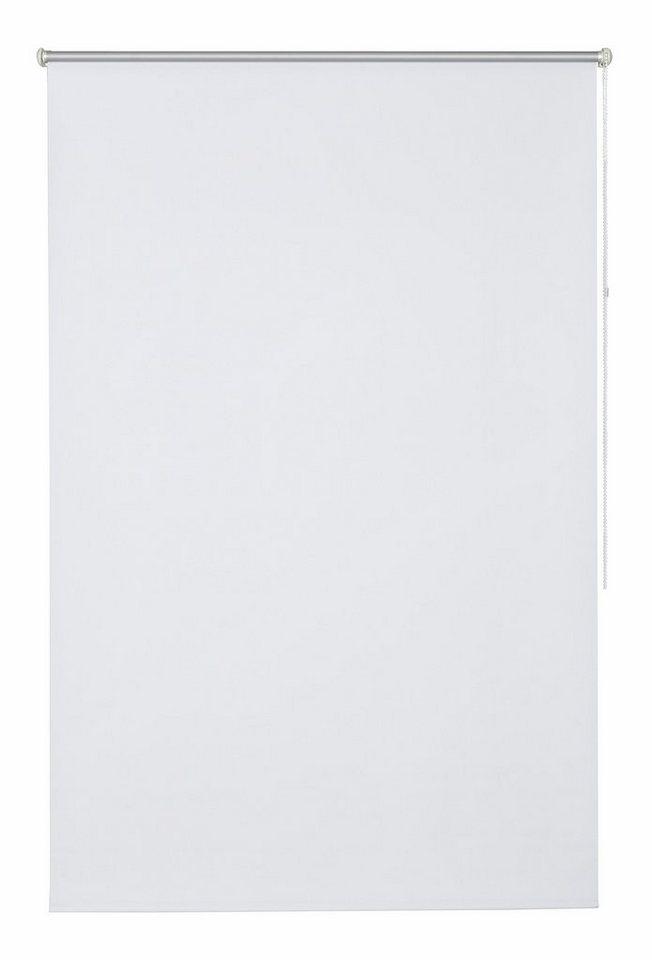 Klemmfix-Seitenzugrollo, my home, »Tomar«, im Fixmaß, ohne Bohren, Energiesparend (1 Stück) in weiß