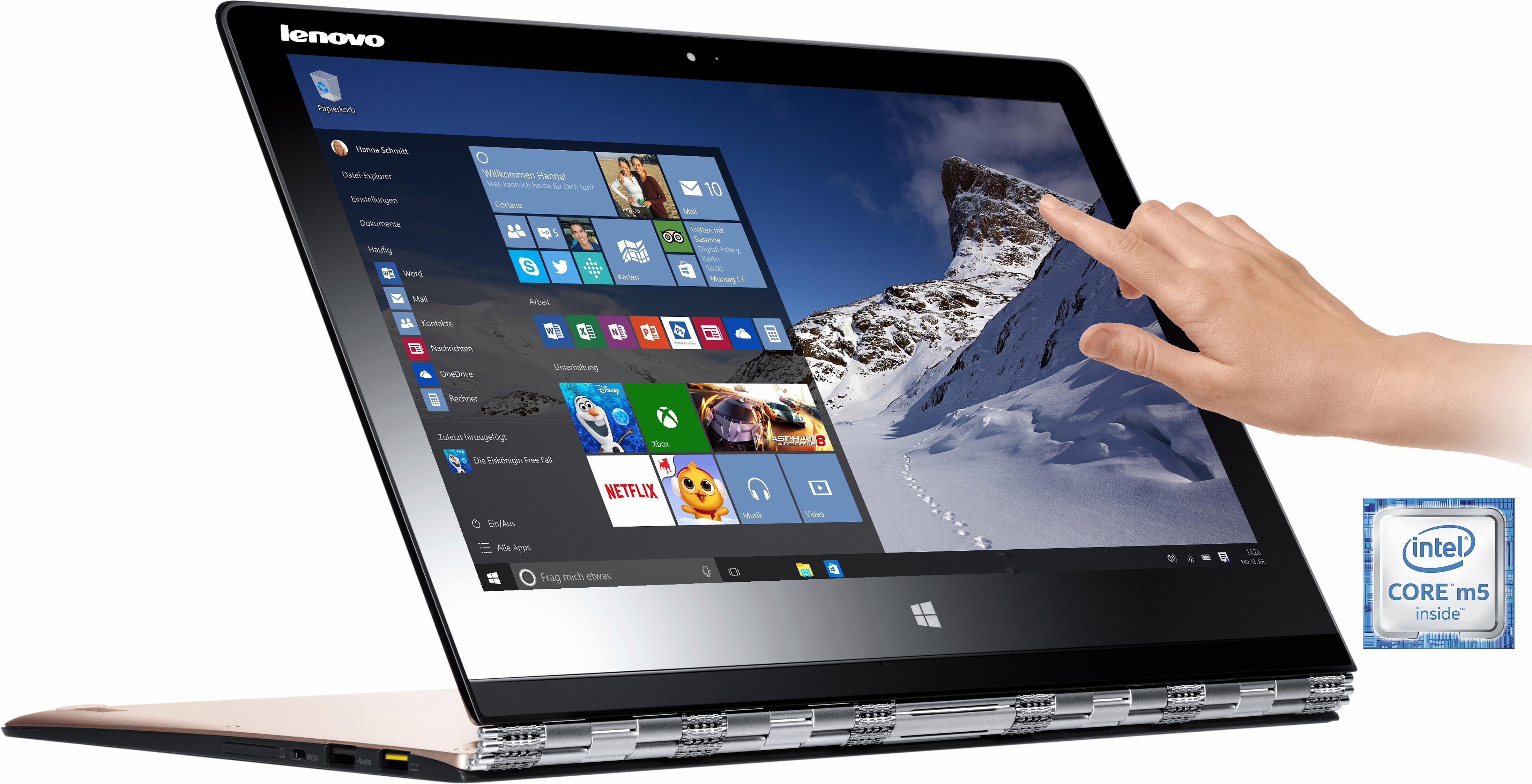 Lenovo YOGA 3 Pro Convertible Notebook, Intel Core M, 33,7 cm (13,3 Zoll), 256 GB Speicher