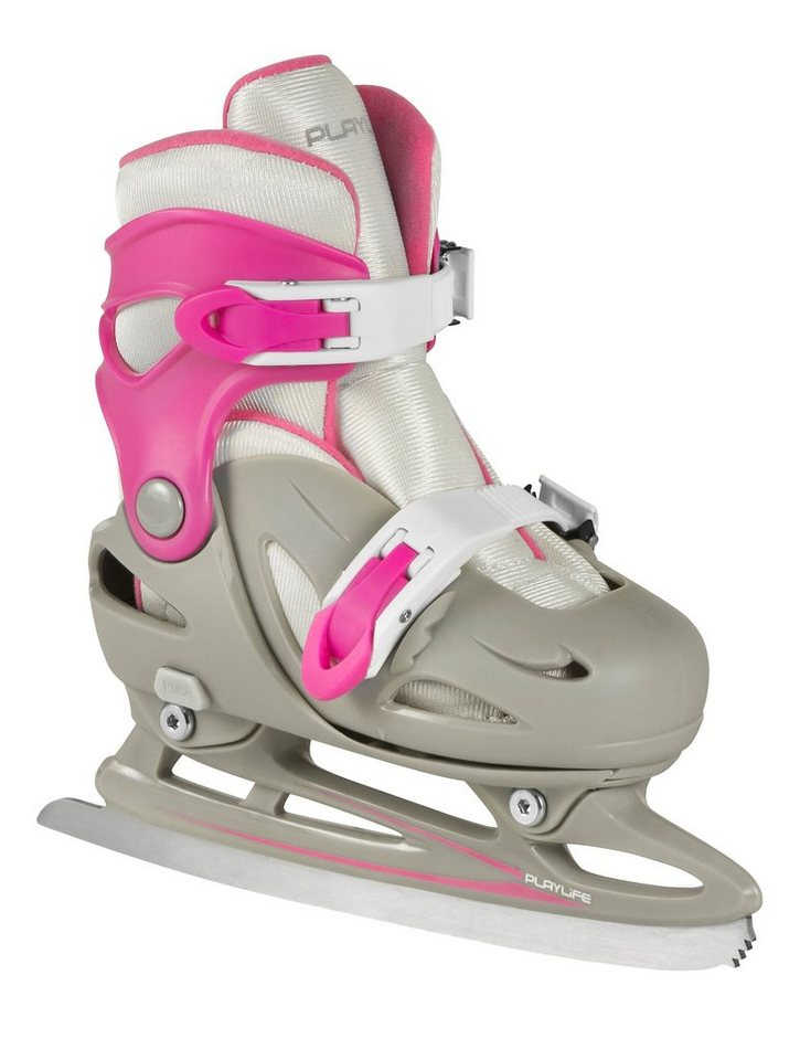 Powerslide Kinder-Schlittschuh, »Cyclone Girls« in grau/rosa