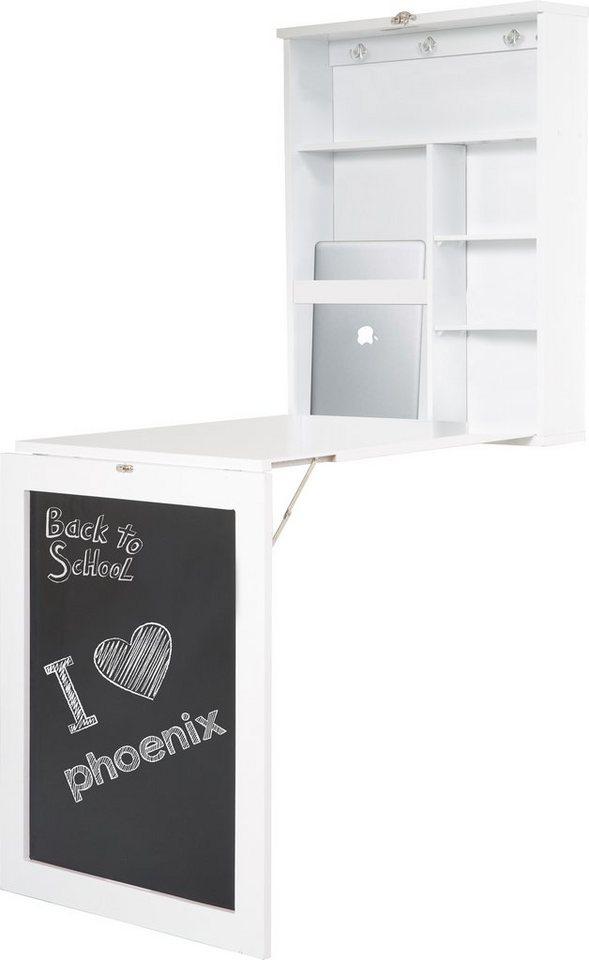 Home affaire Schreibtisch »York« in weiß