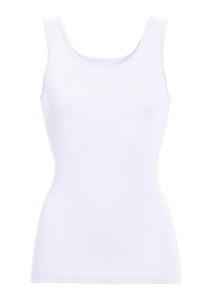Achselhemd in weiß