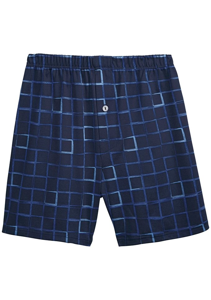 Boxershorts, Kings Club in marine-bedruckt