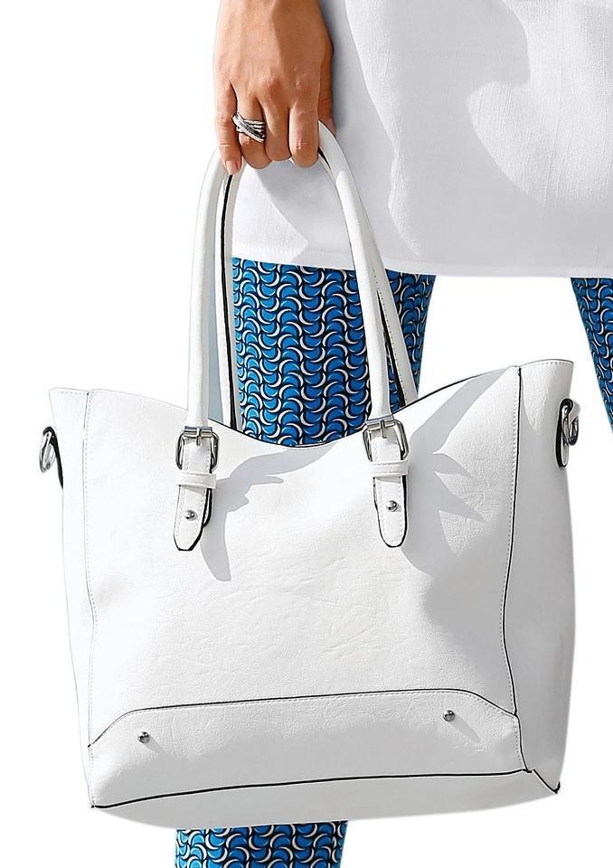Tasche in weiß