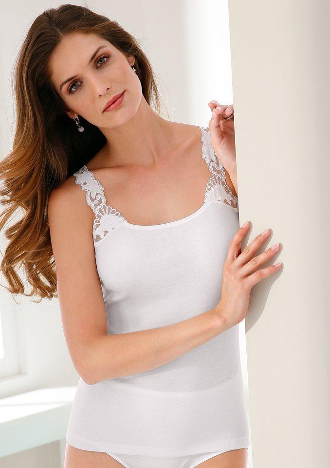 Trägerhemd, Nina von C. in weiß