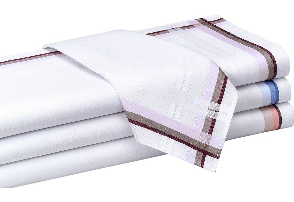 Herren-Taschentücher in 4 Stück