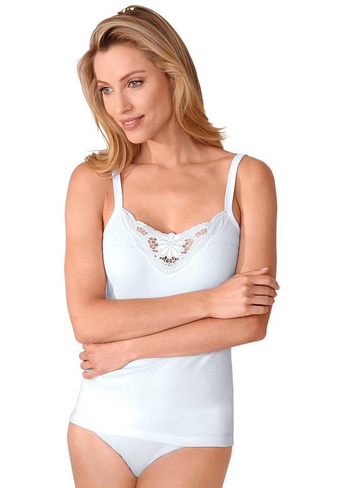 Trägerhemd, Nina von C. (3 Stck.) in weiß