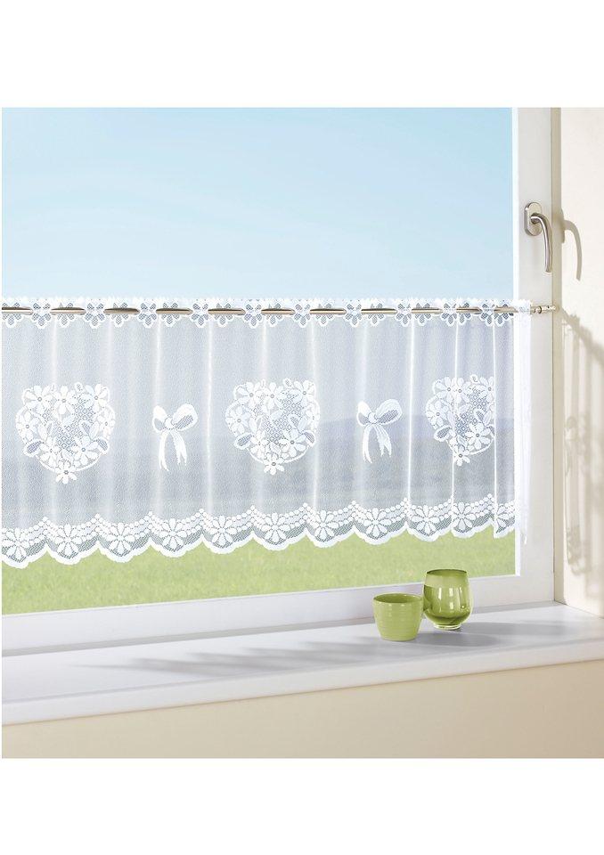 Fensterbehang, Schmidt Gard in weiß