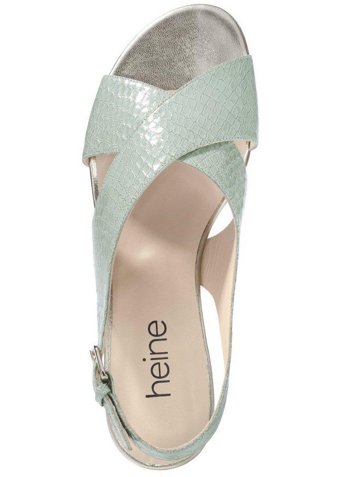 Sandalette in mint