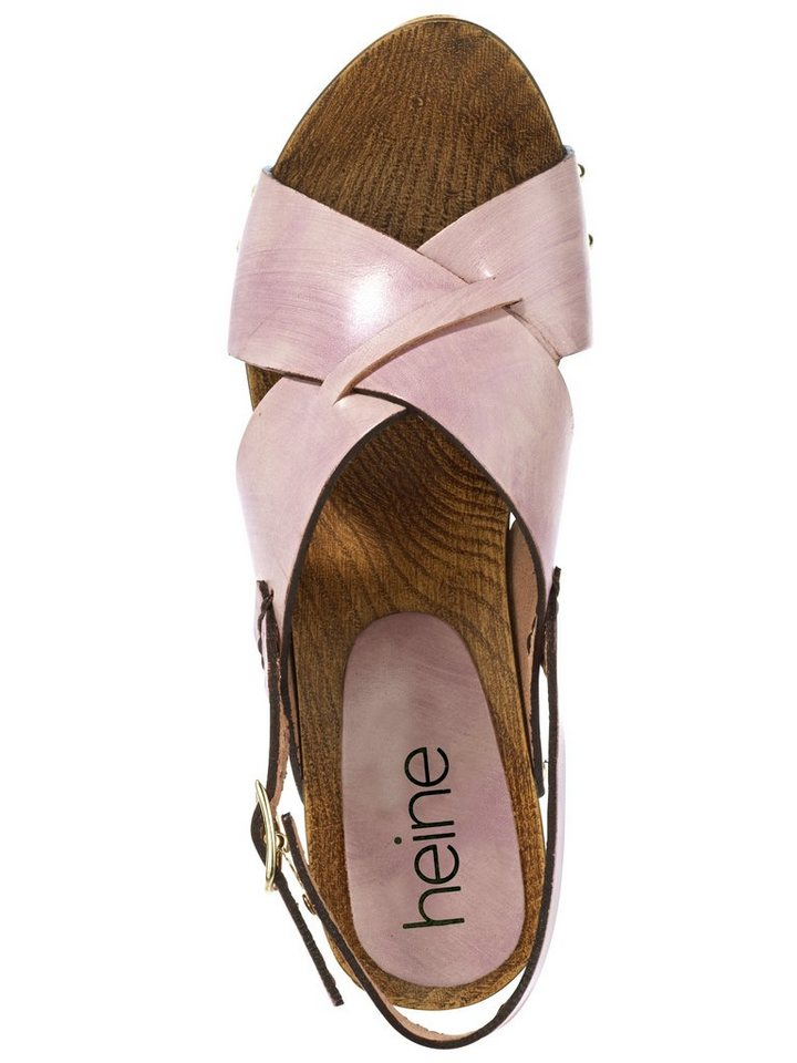 Sandalette in rosa